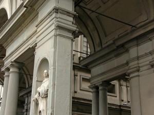 Detail, Galerie des Offices, Florence, Toscane, Italie